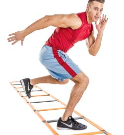Agility Training with Agility Ladder