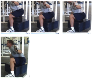 Box Squat Test for Inexperienced Athletes