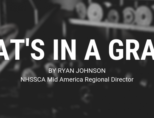 What's in a Grade? Important Soft Skills Every Strength Coach Should Teach