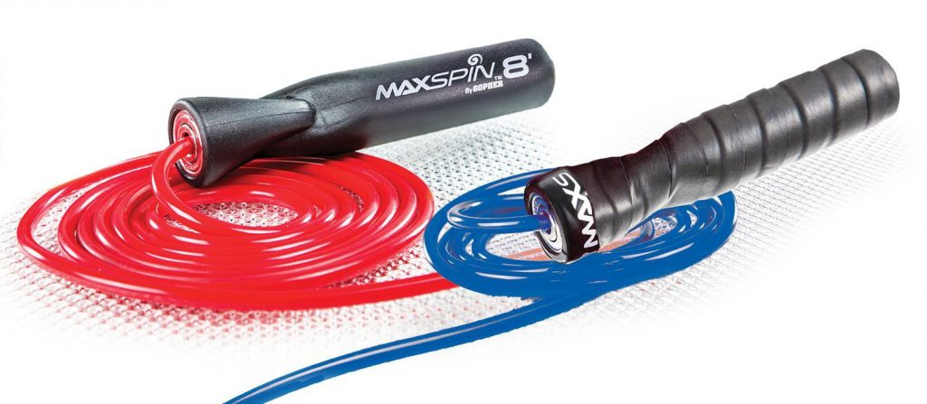MaxSpin Speed Ropes with Ball-Bearing Handles