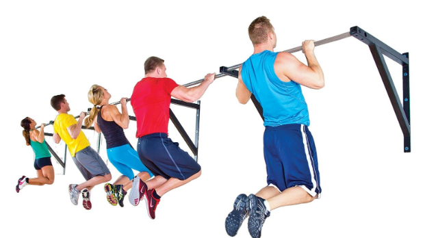 Text Box: IronRange Pull-Up Bar Systems can be mounted in a hallway to create an added training space to help distance athletes.