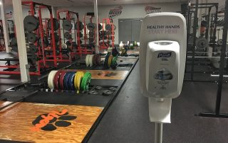 Transitioning back to the weight room